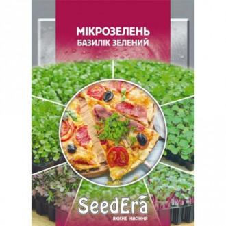 Микрозелень Базилик Seedera рисунок 2