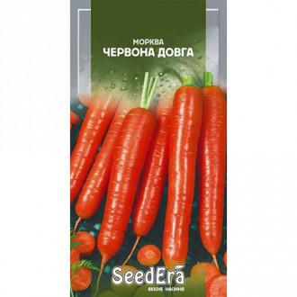 Морковь Красная длинная Seedera рисунок 1