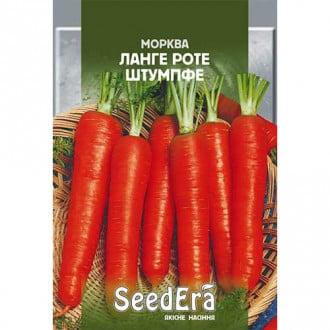 Морква Ланге Роте Штумпфе Seedera зображення 1