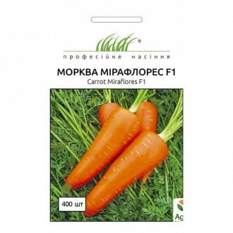 Морковь Мирафлорес F1 Профессиональные семена рисунок 4