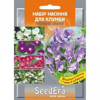 Набір насіння квітів Чарівна хвиля з 5 упаковок, суміш забарвлень Seedera зображення 8