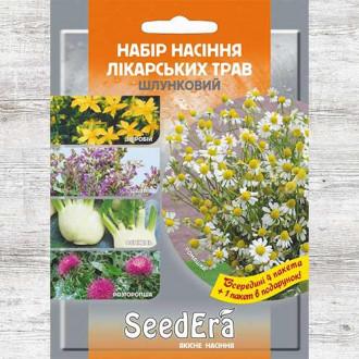 Набір насіння Лікарські трави Шлунковий з 5 упаковок, суміш сортів Seedera зображення 3