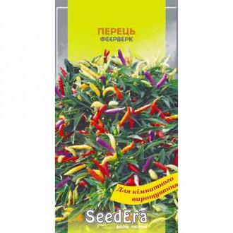 Перец острый декоративный Фейерверк, смесь сортов Seedera рисунок 5