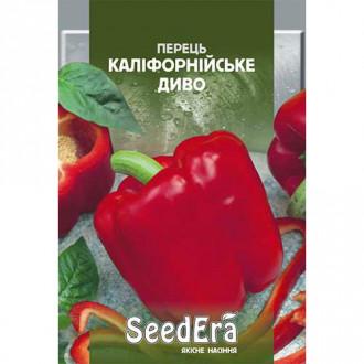 Перець солодкий Каліфорнійське диво Seedera зображення 3