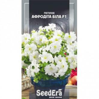 Петунія Афродіта біла F1 Seedera зображення 3