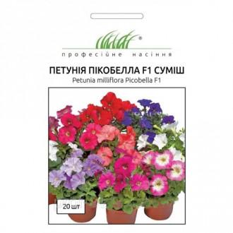 Петуния Пикобелла F1, смесь окрасок Профессиональные семена рисунок 1