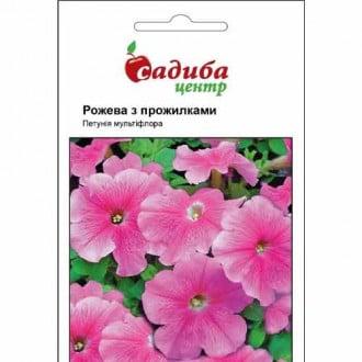 Петунія Рожева з прожилками Садиба центр зображення 6