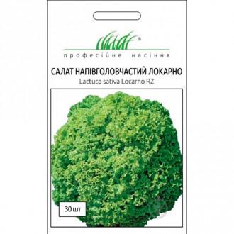 Салат напівголовчастий Локарно Професійне насіння зображення 4