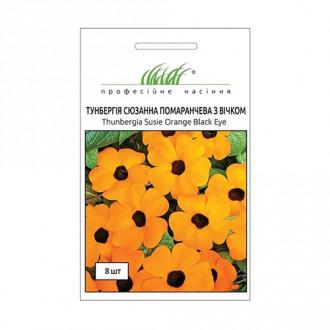 Тунбергія Сюзанна помаранчева Професійне насіння зображення 2