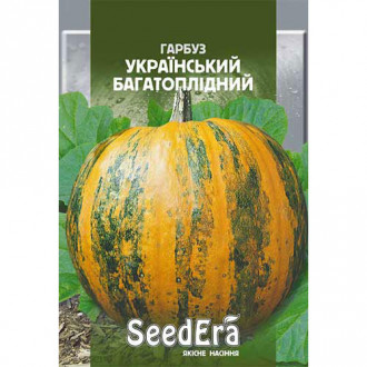 Тыква Украинская многоплодная Seedera рисунок 8