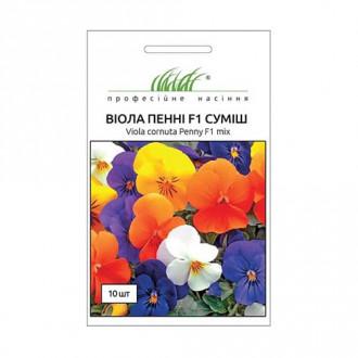 Виола Пенни F1, смесь окрасок Профессиональные семена рисунок 4