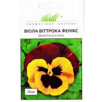 Віола Віттрока Фенікс червоно-жовта Професійне насіння зображення 2