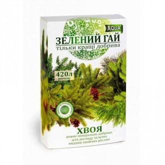 Удобрение Зеленый гай для хвойных рисунок 6