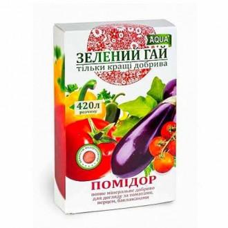 Удобрение Зеленый гай для томатов рисунок 4