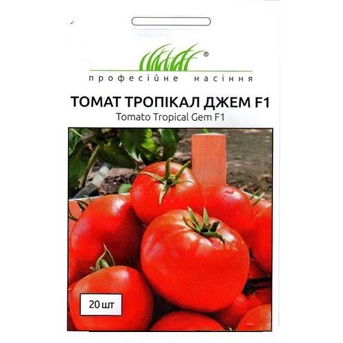 Томат Тропікал Джем F1 Професійне насіння зображення 1 артикул 65471