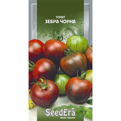 Томат Зебра черная Seedera рисунок 1 артикул 90229