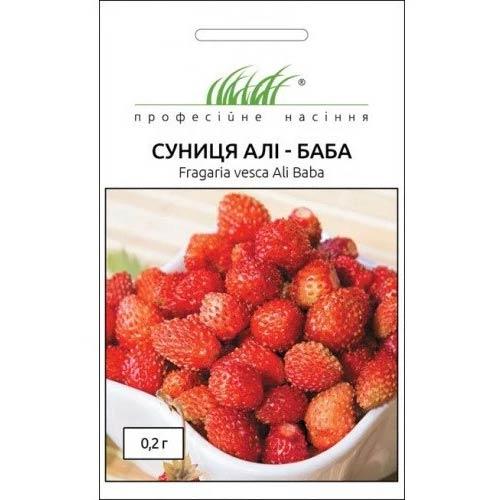 Суниця ремонтантна Алі-Баба Професійне насіння зображення 1 артикул 65510