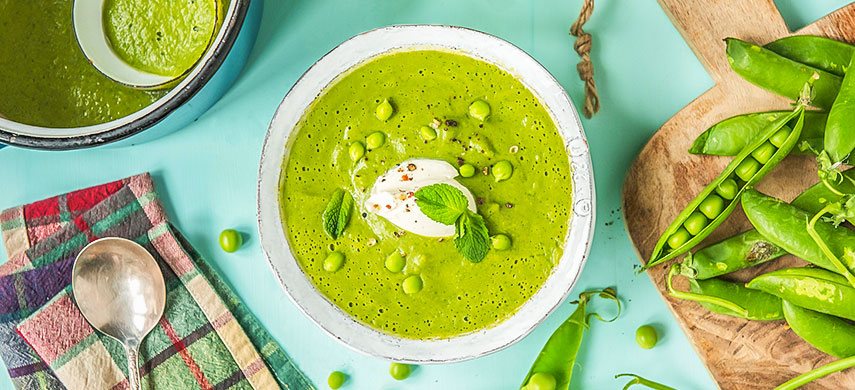 Освіжаючий і яскравий: суп зі свіжого горошку